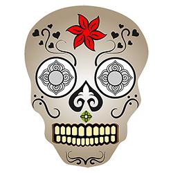 sugar skull design 11