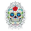 sugar skull design 02