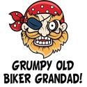 grumpy old biker grandad