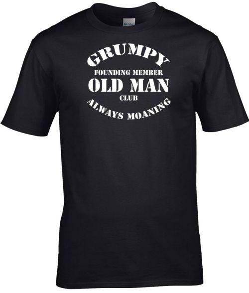 grumpy old man's club funny shirt