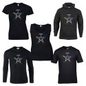 elemental pentagram pagan shirt