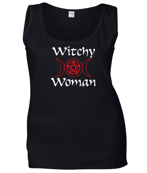 witchy woman ladies pagan top