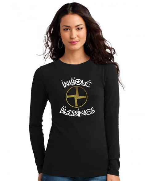 imbolc blessings ladies pagan shirt