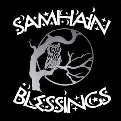 samhain blessings pagan design