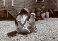 Carol Gold with daughter, Hannah