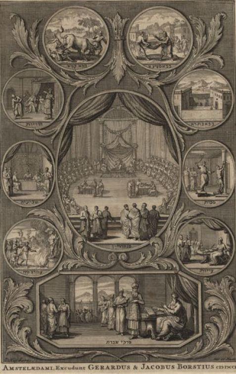 Talmud in Latin - Seder Nezikin, Amsterdam, 1698, Gross Family Collection, Tel Aviv