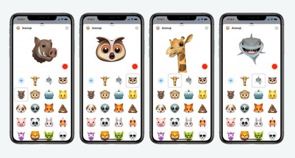 new Animoji, new animals, новые анимоджи, анимоджи, животные сообщения, стикеры новые