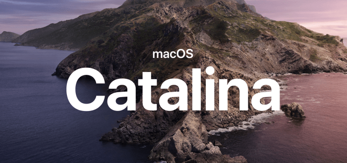 Mac OS, Mac OS Catalina, new Mac OS