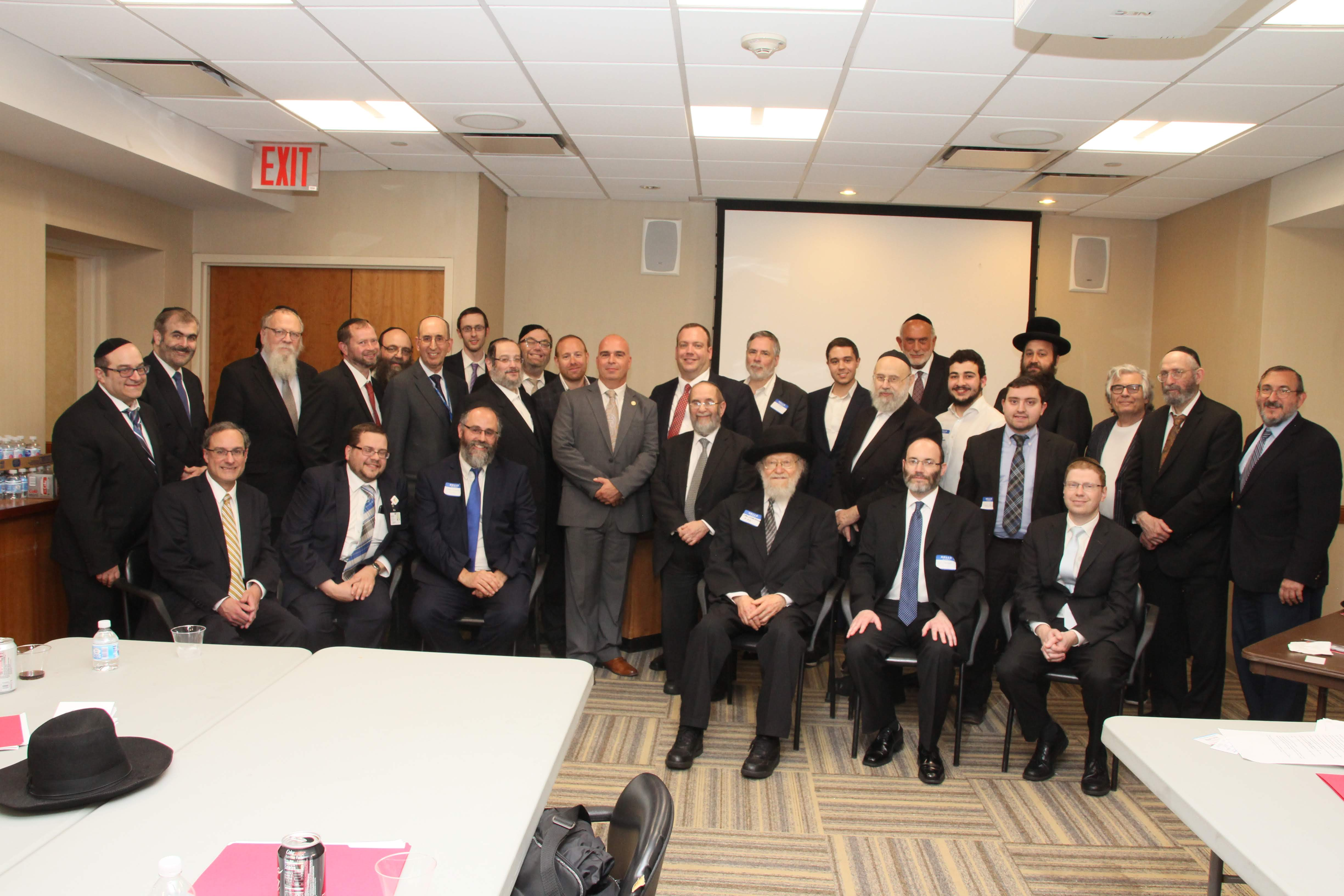 Rabbis Learn About Self-Care - RAA Igud HaRabbonim