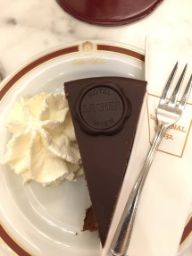 The famous Sacher-Torte