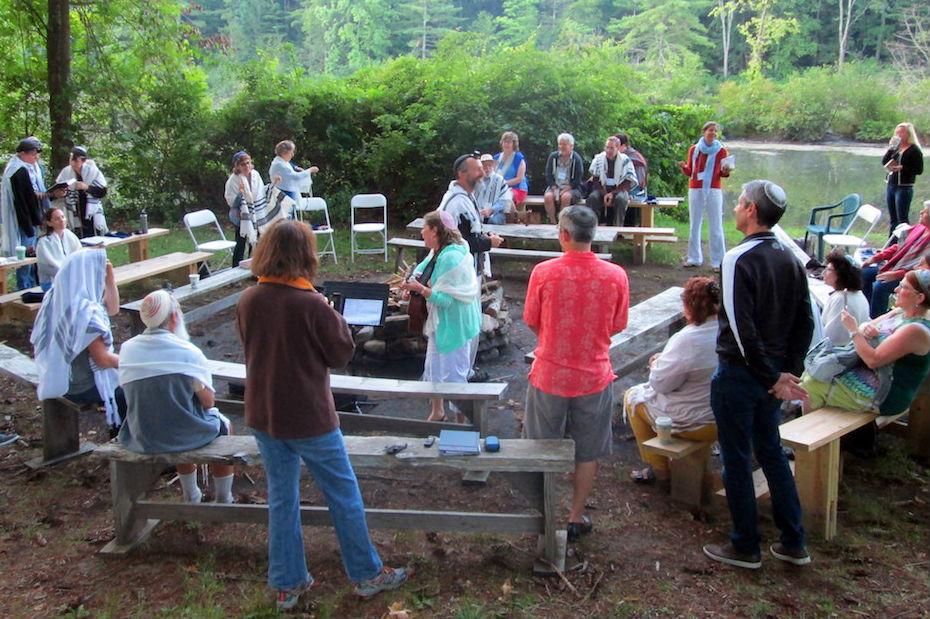 Rabbinic Pastors during an outdoor service