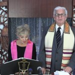 Rabbi Michael Sternfield and Cantor Deborah Bard