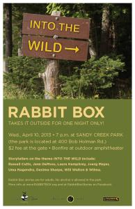 Read more about the article Into the Wild at Sandy Creek Park