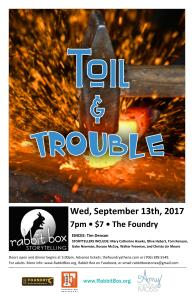 Read more about the article RB59: Toil & Trouble