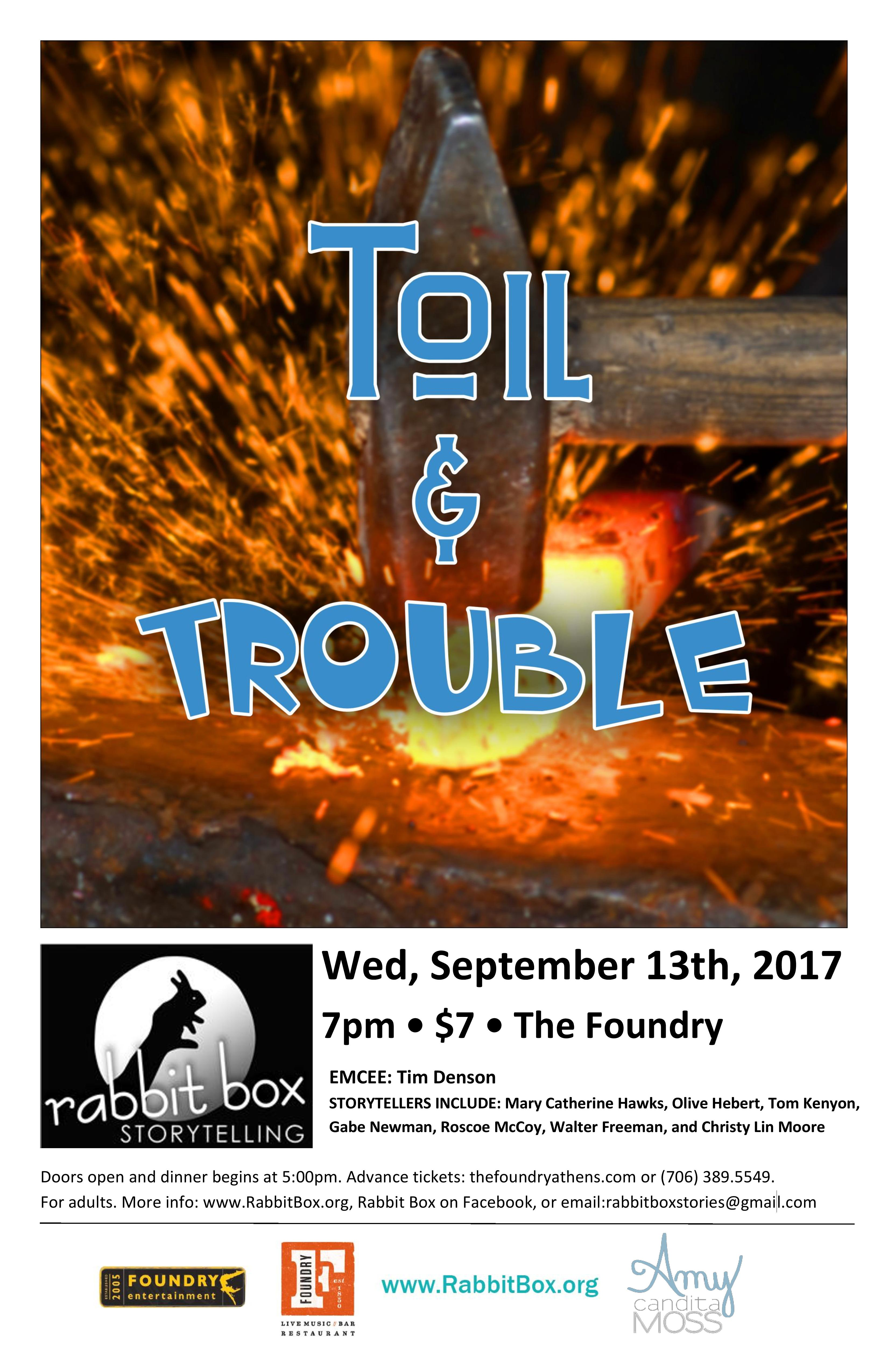 You are currently viewing RB59: Toil & Trouble