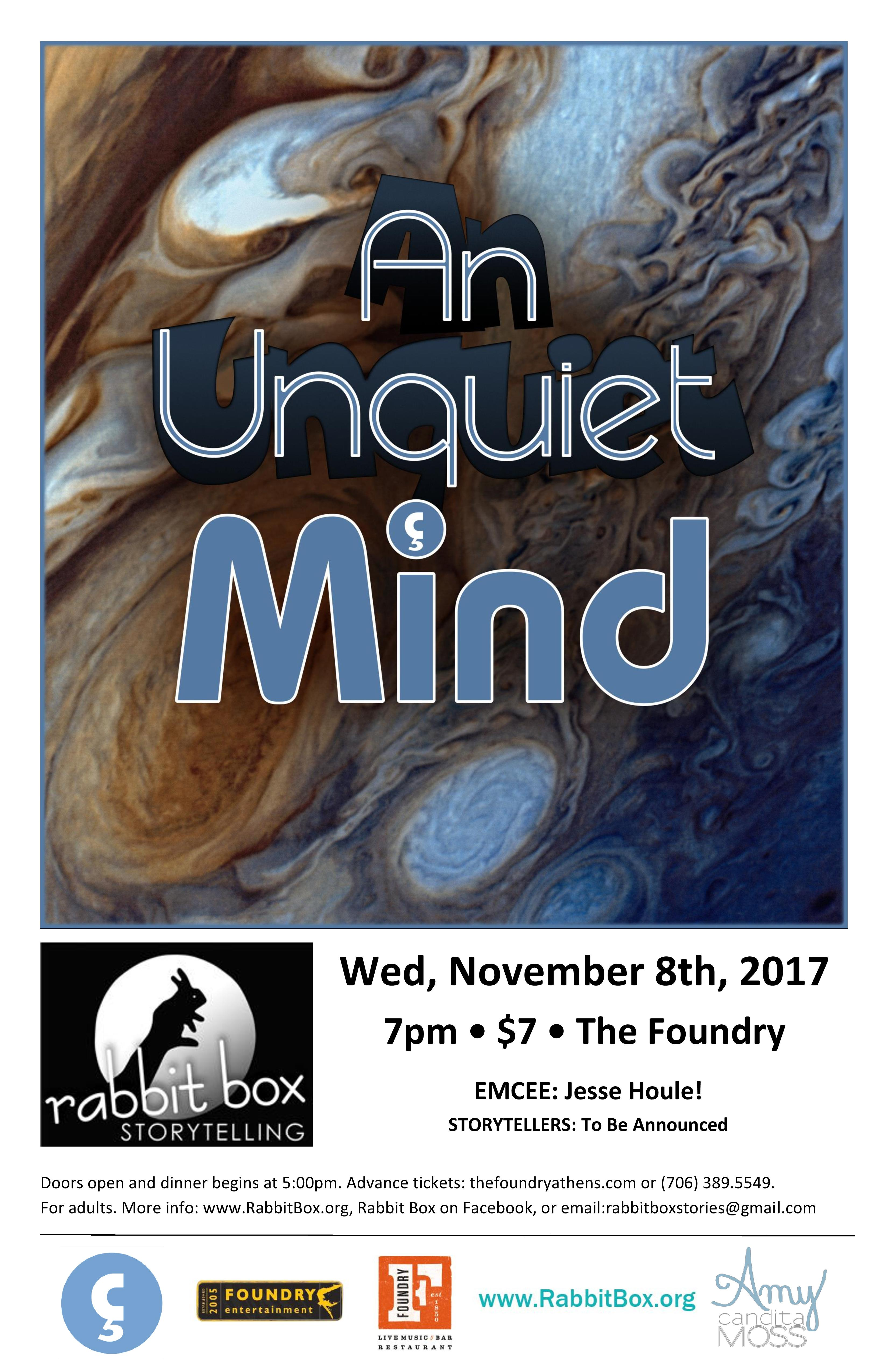 You are currently viewing RB61: An Unquiet Mind