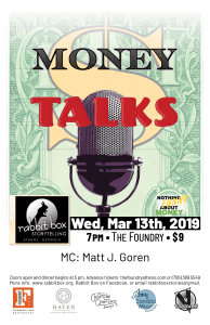 Read more about the article Money Talks