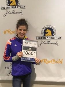 Ready to take on my second Boston Marathon!