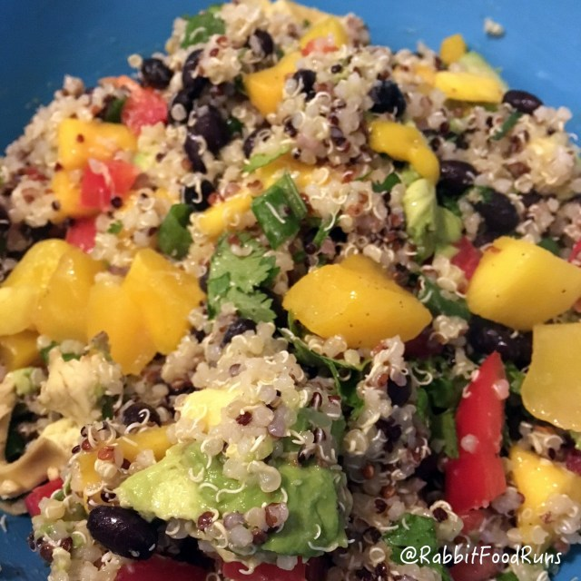 Quinoa closeup