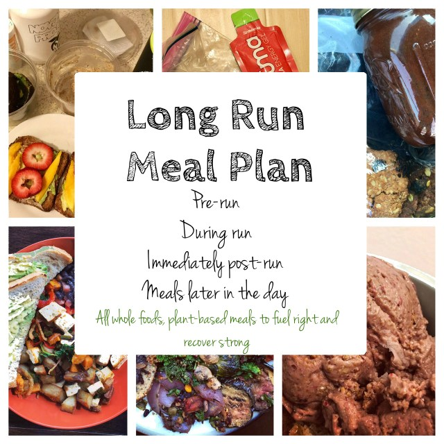 long run meal plan ultra