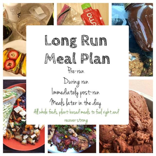 long run meal plan ultra