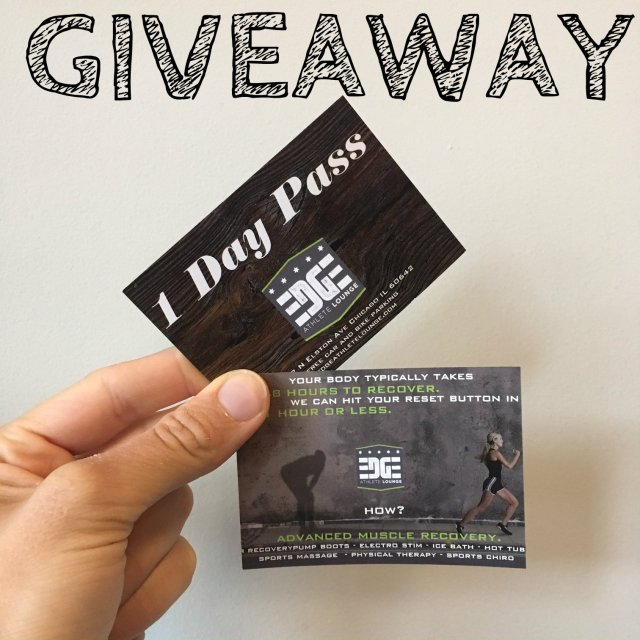 EDGE Athlete Lounge Giveaway