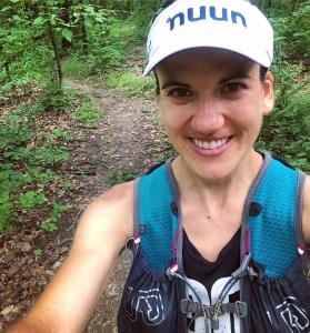 TNFECS Wisconsin Training Week 1-4 Trail selfie
