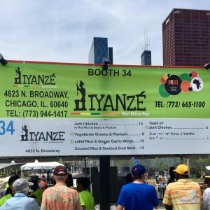 2017 Taste of Chicago Vegan Options Iyanze