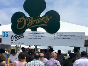 2017 Taste of Chicago Vegan Options O'Briens