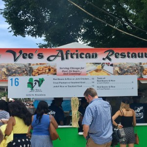 2017 Taste of Chicago Vegan Options vees