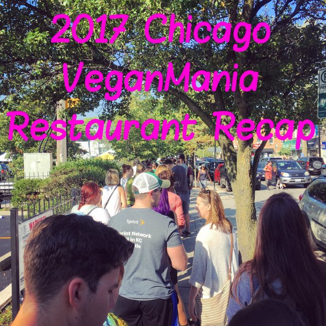 Chicago VeganMania REstaurant REview 2017