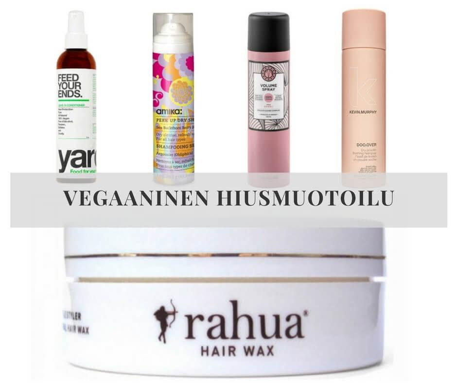 Testissä hiusmuotoilutuotteet: Tekevätkö ne sitä mitä lupaavat?