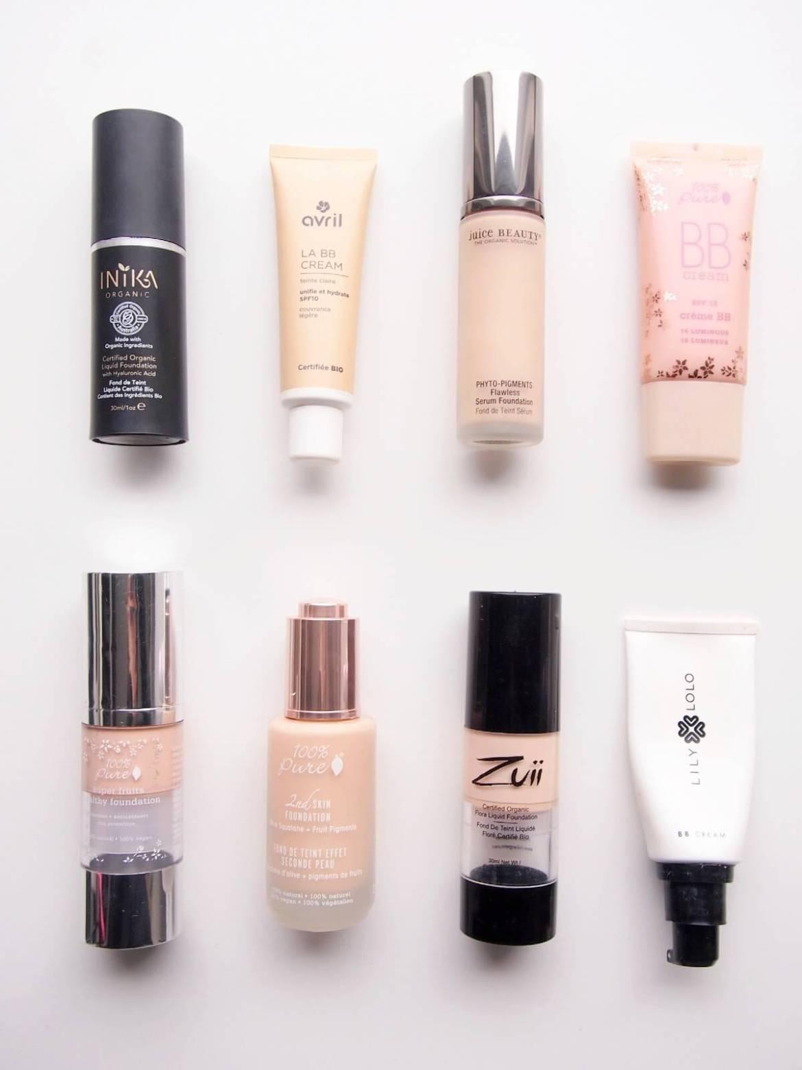 vegaaninen luonnonkosmetiikan meikkivoide