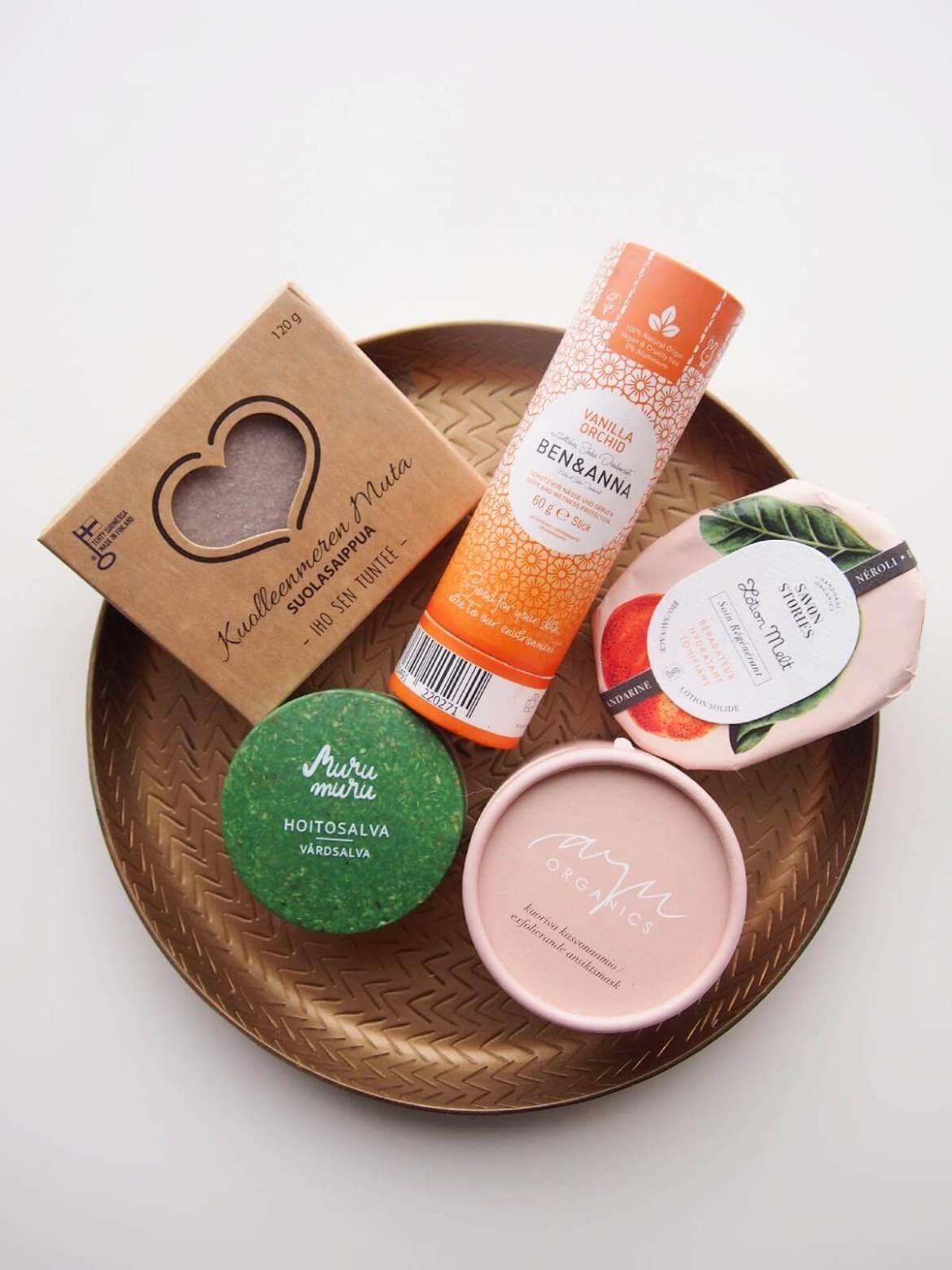 zero waste kosmetiikkavinkit