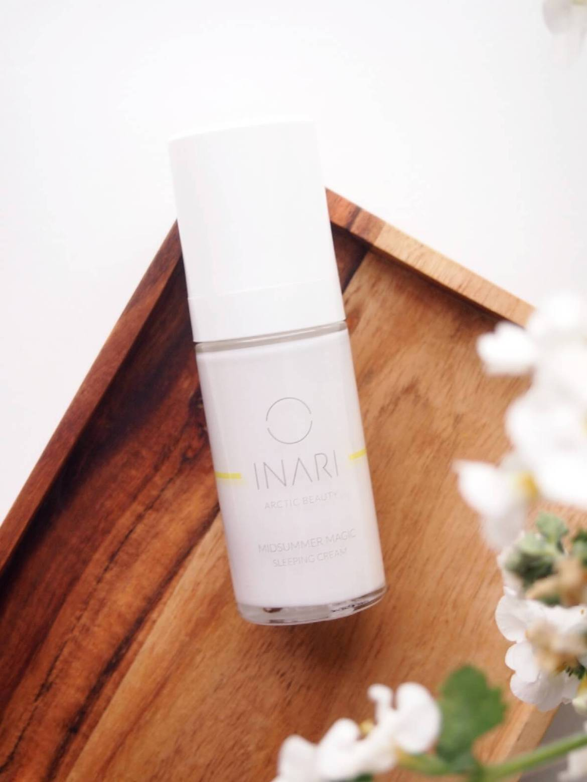 inari cosmetics yövoide kasvoille