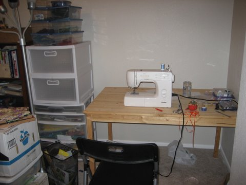 Oh look, a sewing machine!