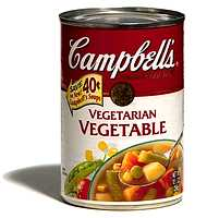 Campbell's Vegi Soup goes treif