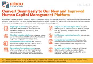 Convert Seamlessly to Rabco Platform