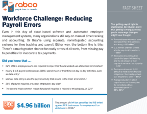 Reduce your payroll errors