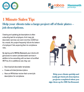 Sales Tip save prospects time
