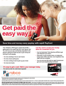 Rapid Save time and money