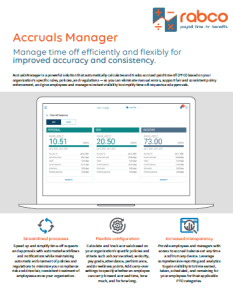 Accruals Manager Key Benefits