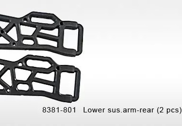 8381-801 - LOWER REAR SUSPENSION ARMS (2)