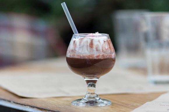 Gnomo Cioccolato - Hot chocolate spiked with Frangelico and Galliano