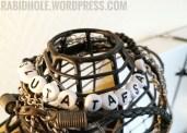 Awareness bracelet for sexual assault.