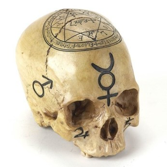 Black Alchemy Skull
