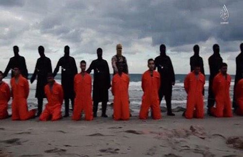 ISIS lines up Copts
