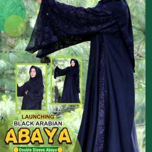 Black Arabian Abaya