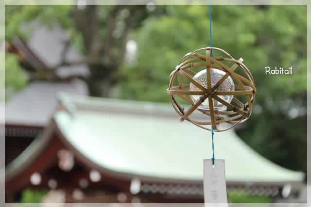 名古屋の若宮八幡社の風鈴祭り