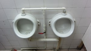 Tiny urinals, Valparaiso
